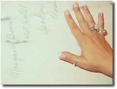 Photography Journal 42/365 (Teka e Fabi) Tags: texture textura me photography hand journal rings nails apieceofme partsofme aneis 42365 tekaefabi