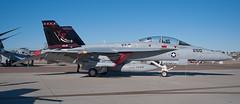 VX-9 Vampires F-18F (SBGrad) Tags: nikon nikkor coronado vampires superhornet nasni alr 2011 d90 cona 24mmf28d f18f vx9 centennialofnavalaviation