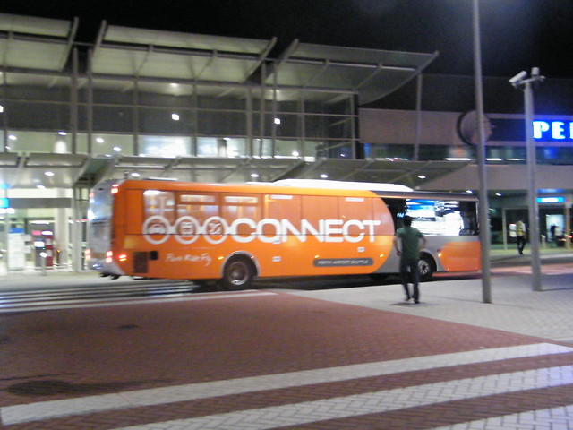 """Connect"" Bus at International Airport"