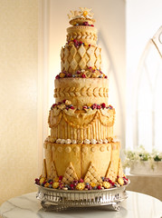 Something Borrowed (Betty Crocker Recipes) Tags: wedding cakes rose cake pie dessert berry berries dove weddingcake blueberry pies raspberry icing tart tarts frosting princewilliam piecrust bettycrocker royalwedding tiered somethingborrowed generalmills caketier
