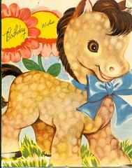 Birthday Wishes (reinap) Tags: vintagebirthdaycard