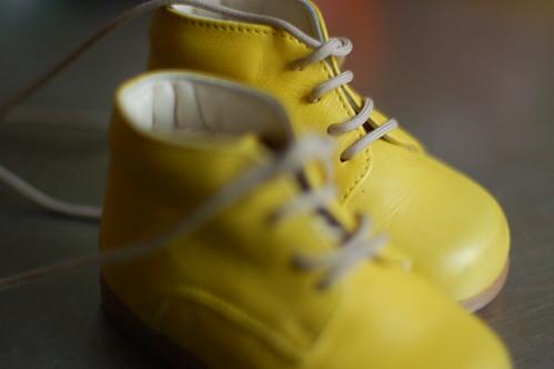 De eerste schoentjes van Sientje