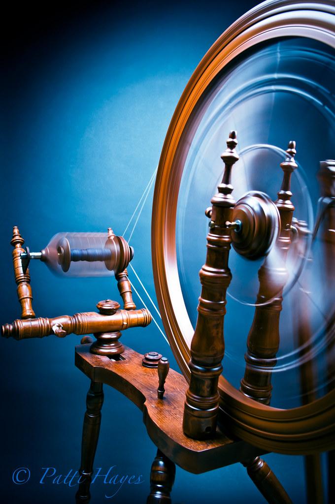 Spinning Wheel 25/365 {Explored}