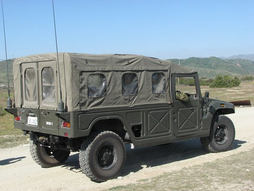 Soft top Toyota High Mobility Vehicle, Iron Fist 2011 exercises.