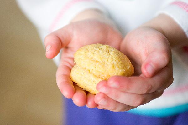 Cornmeal cookies 4