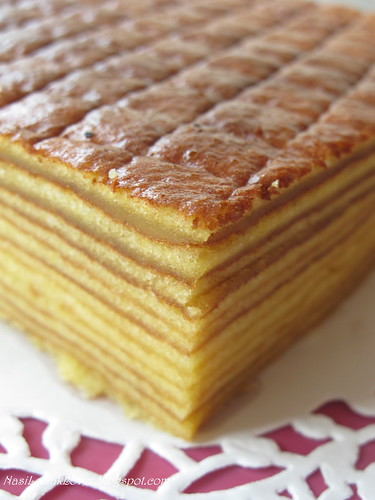 Indonesian Layer Cake With Cardamom