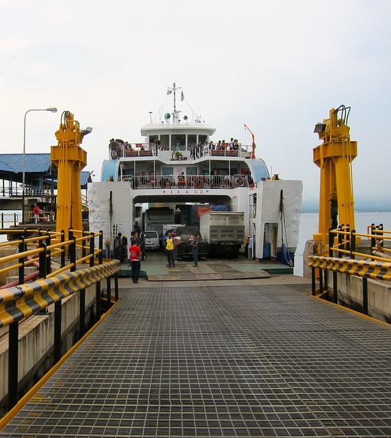 Ferry From Gilimanuk To Java Island