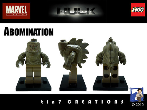 Custom minifig 68 - Abomination custom minifigure