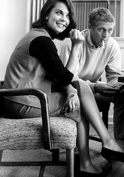 Natalie Wood, Steve McQueen