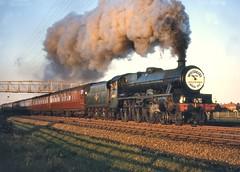 'Jubilee' class no.45694 'Bellerophon'. Bridlington. 29 August 1964 (ricsrailpics) Tags: uk yorkshire steam excursion 1964 bridlington 460 stanier jubileeclass exlms