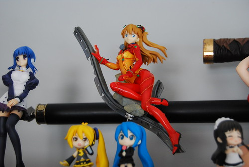 Asuka and some vocaloids