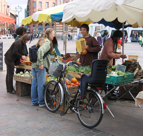 Cycle-friendly Toulouse. Photo: Richard Peace