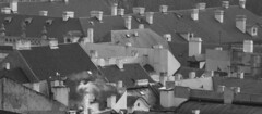 praha1102_18bw (mikina14) Tags: prague praha roofs chimneys strana malá střechy komíny