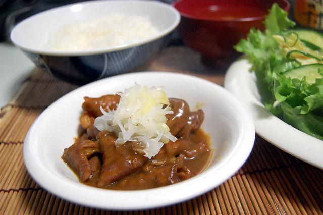 もつカレー煮てみました。おかずよりむしろ肴より!#jisui