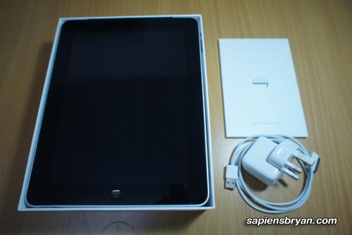 Apple iPad 16GB 3G+WiFi Unboxing