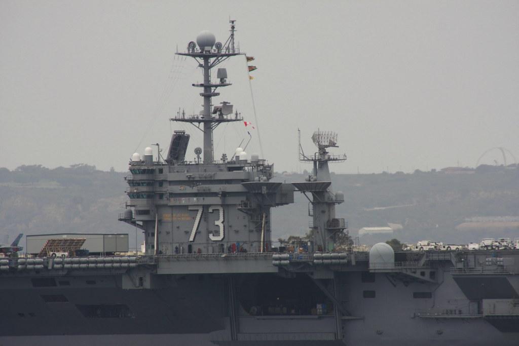 USS George Washington (CVN 73) Island