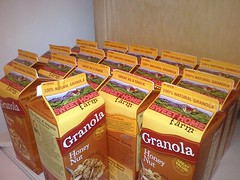 I've eaten at least twice my weight in granola while at #kellogg