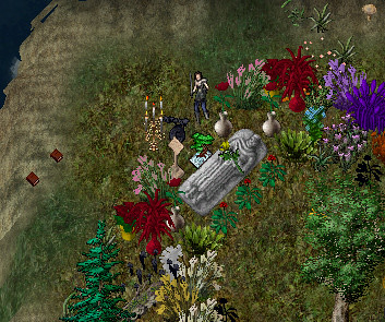 Ultima Online - Final Resting Place of Queen Dawn