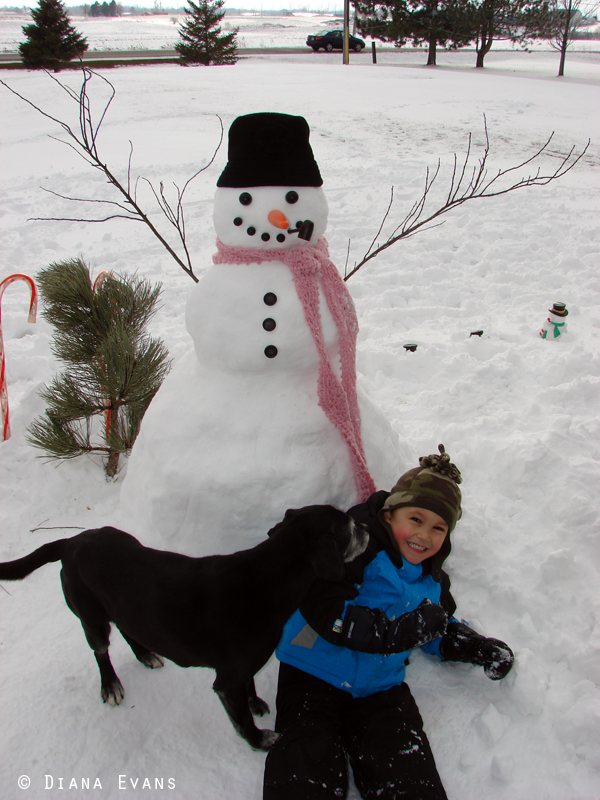 February 25th 2011 - snowman day 036