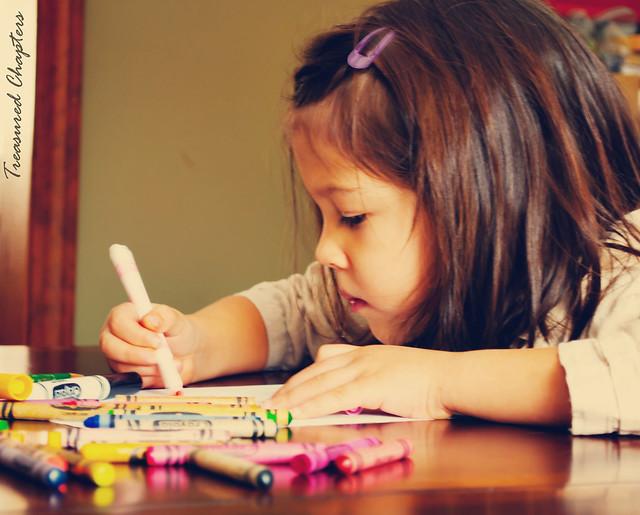 Audrey coloring