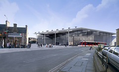Rendered View from the Haymarket Junction