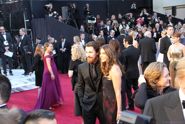 Christian Bale at the 83rd Academy Awards Red Carpet IMG_1579 by MingleMediaTVNetwork