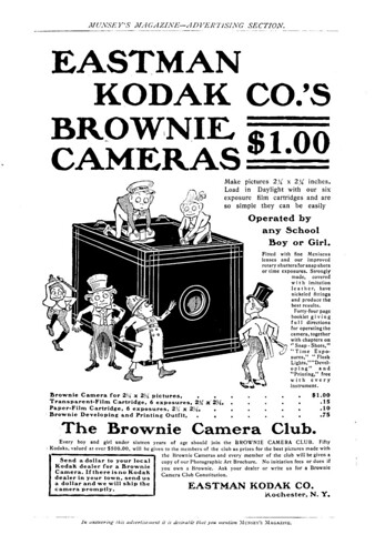 Kodak Brownie Camera Wiki Org The Free Camera Encyclopedia