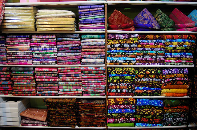 a songket shop