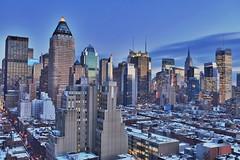 Blue Hour at Midtown Manhattan – A Crystal Wonderland