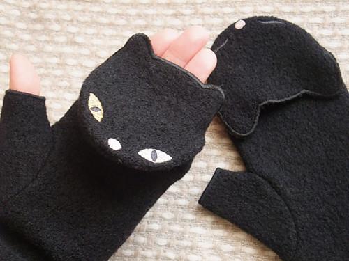 cat mitten
