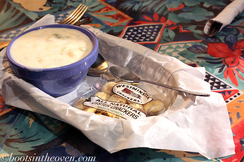 Clam Chowder is always so warming