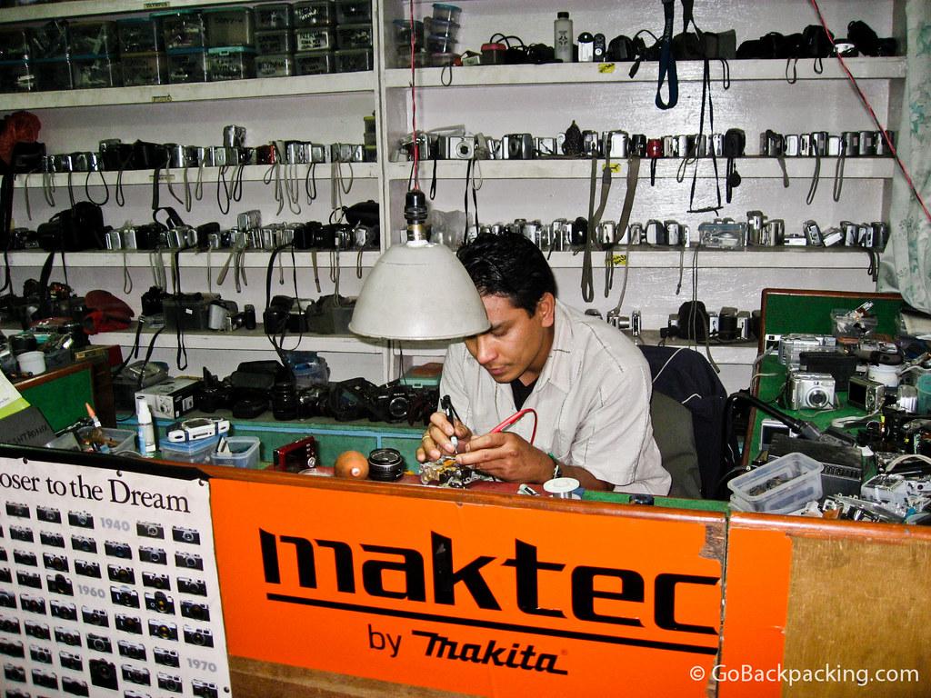 Camera repair in Kathmandu