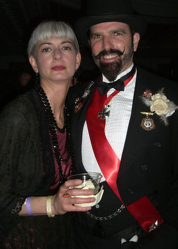 Patrick and Me at Edwardian Ball 2011