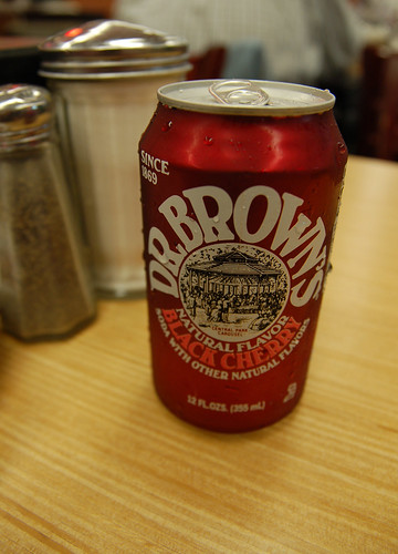 Dr Brown's Black Cherry Soda