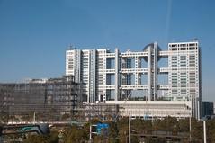 Television Headquarters (rocketdogphoto) Tags: japan minato fujitelevision yurikamomeline odaibaisland
