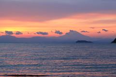 明かりの灯る江ノ島