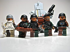 ACI Infantry (antha) Tags: world winter urban modern birdie design robot lego conflict fi standard sci troop aci mech in faction brickarms