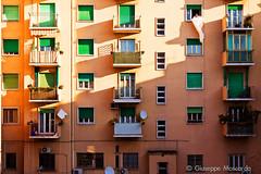 ordinary life (GMoscarda) Tags: life morning windows sun shadows ombre flats condo balconies palazzo condominio trieste ordinary biulding mattina balconi appartamenti appartaments