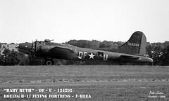 B-17 ~ F-BEEA ~ Coded : DF-U ~ 04 (Memphis_Belle_1989) Tags: b17 duxford flyingfortress babyruth dfu fbeea egsu 124292 memphisbellemovie 4485643