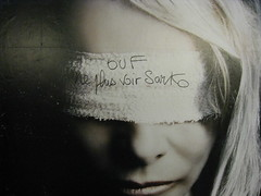 Ouf ! (tofz4u) Tags: paris pub blind mtro advertisement publicit affiche 75010 sarko sarkoland yeuxbands