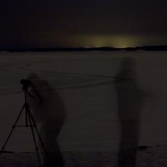 Phantoms of the Night (maijakerttu) Tags: winter shadow sky night phantom lumi talvi yö varjo taivas kummitus haamu longexposurecanon