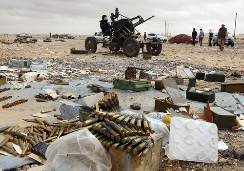 Rebels regained city of ajdabiya in libya