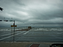 61st street pier (DigitalLyte) Tags: galveston rain training texas seawall thunderstorm galvestonisland lumixfz35