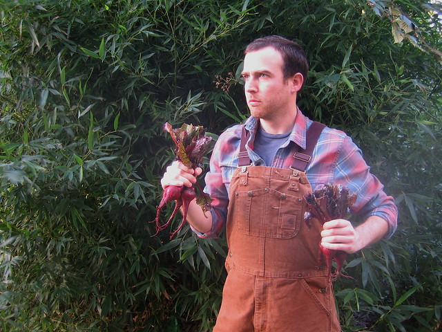 Holding Beets