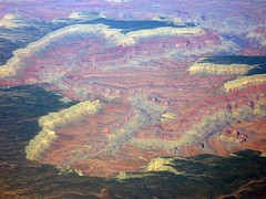 The Grand Canyon from 30,000 feet (Alaskan Dude) Tags: travel grandcanyon aerialphotography americansouthwest