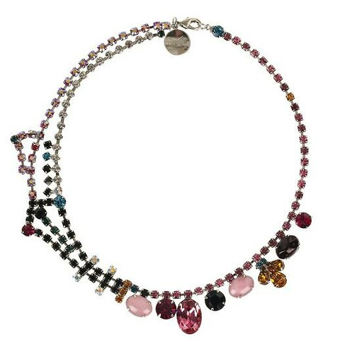 Tom Binns RhineSt Necklace