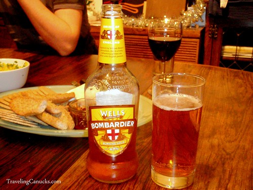 Bombardier Beer, London England
