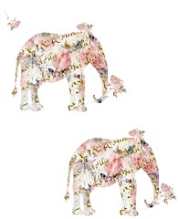 Elephants and roses