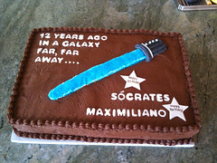 Star Wars Cake by Sharon