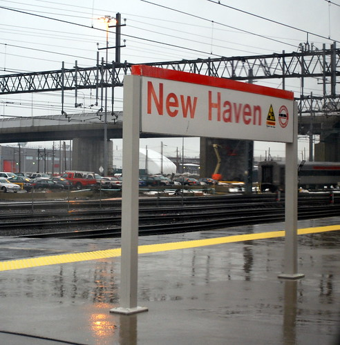 Rainy New Haven